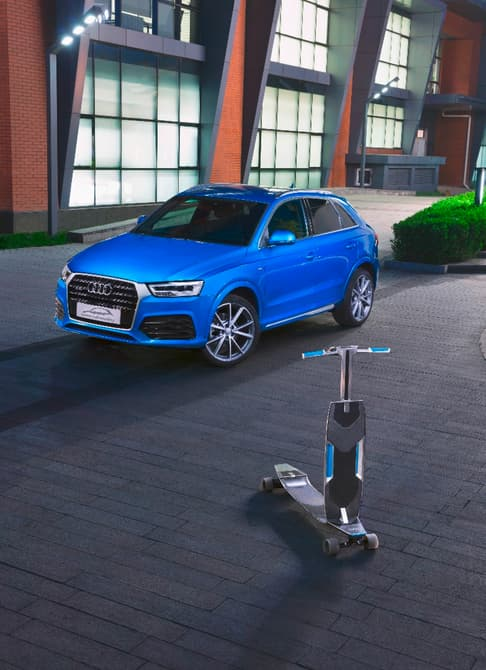 audi-q3 connected-mobility