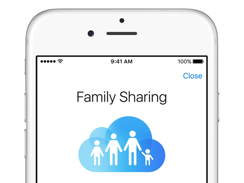 itunes Family Sharing
