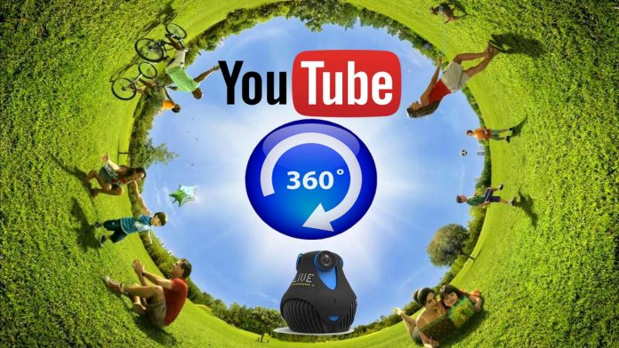 YouTube 360 degree