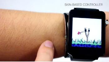 skin based Smartwatch
