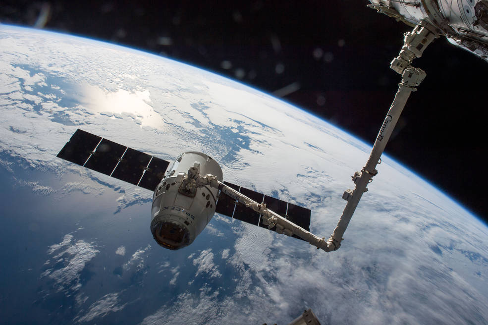 SpaceX Dragon departs ISS, heads home with cargo