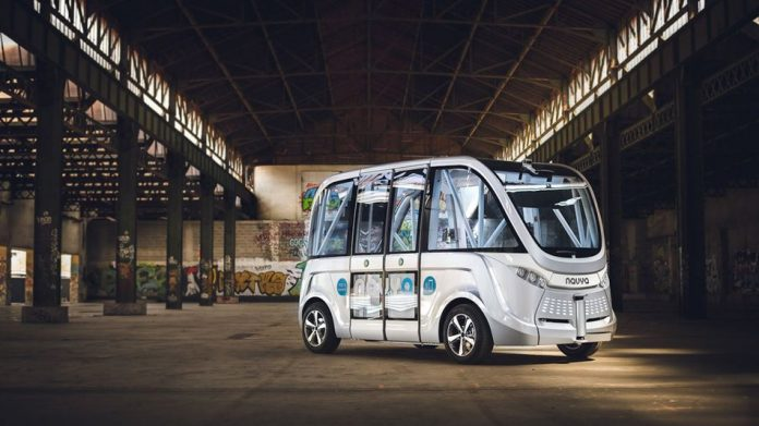 World's First Autonomous Bus