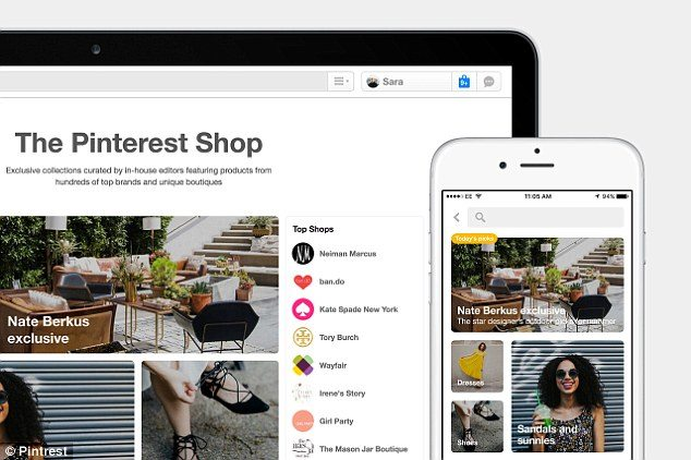 Pinterest Launches A Shopping Service