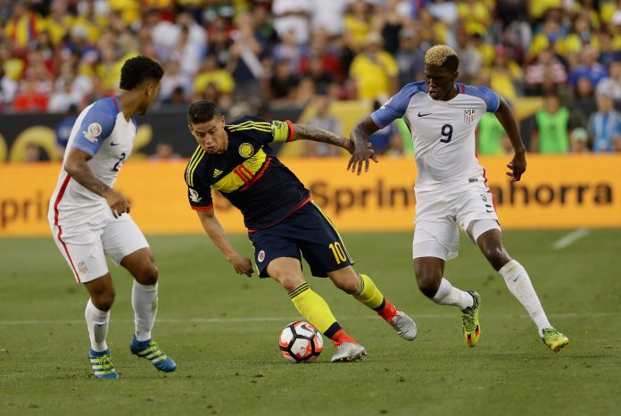 Colombia defeats Team USA at Copa America Centenario