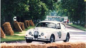 Jaguar Mark-2 Goodwood festival
