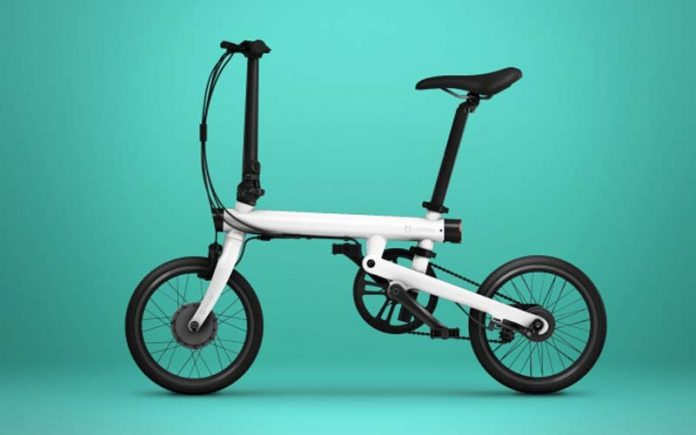 Smart Foldable Electric Bike: QiCycle