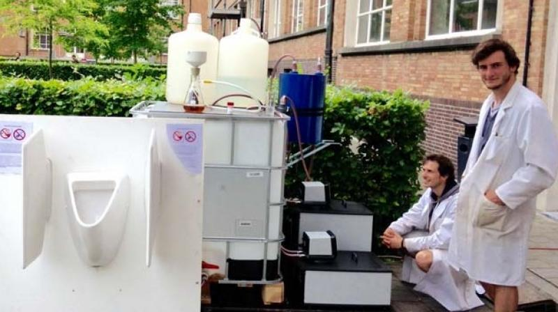 Belgian university Urine to Drinking Water