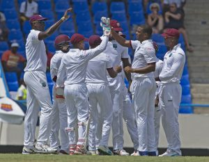 WI Vs IND 1st test first day