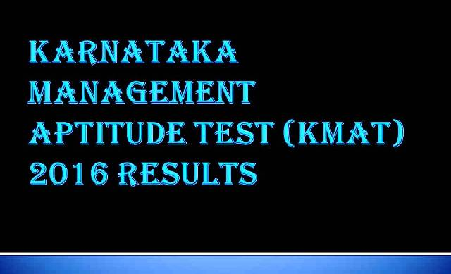 kmat results 2016