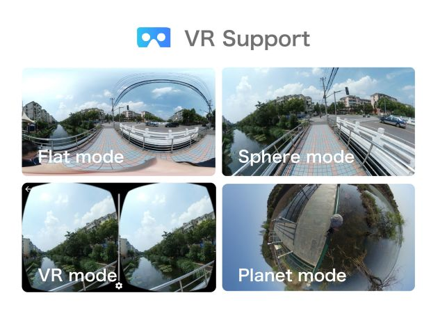 Nico 360 VR Support
