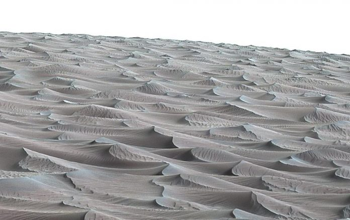 NASA's Curiosity Rover Discovers Sand Dunes on Mars