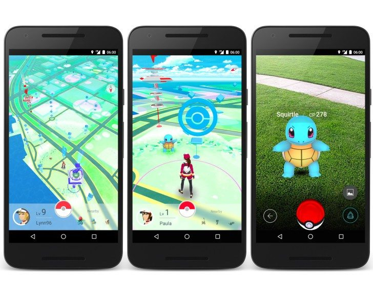 Pokemon Go Smartphone Game Allows You To Trade Pokemon