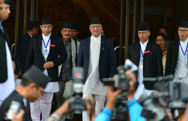 Nepal PM Oli resigned