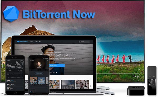 iOS and Apple TV users may now enjoy official BitTorrent Now app