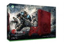 Xbox one s themed with Gears of war 4
