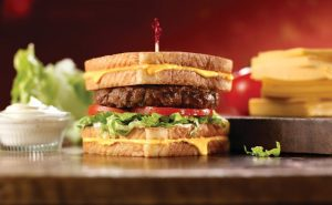 Friendly Grilled Cheese Burger
