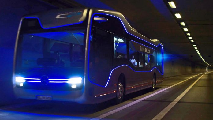"Mercedes-Benz unveils ""CityPilot"", a Self-Driving City Bus"