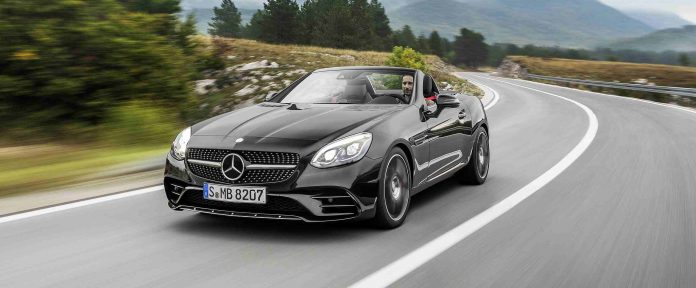 Car Mercedes-AMG SLC 43