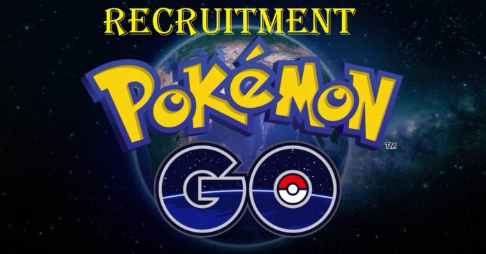 Pokemon Go Recruitment