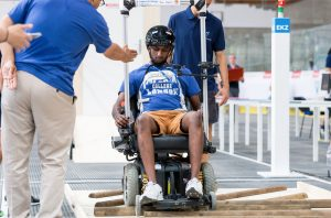 Powered Wheelchair Race