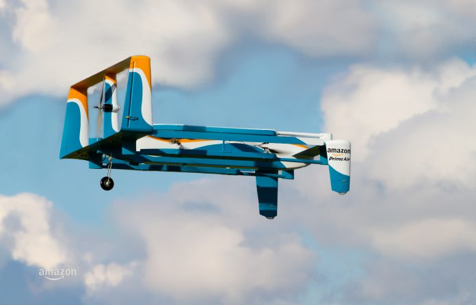 Amazon joins with UK Government to make Drone