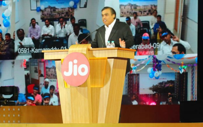 Reliance Announces The Commercial Launch of Jio 4G
