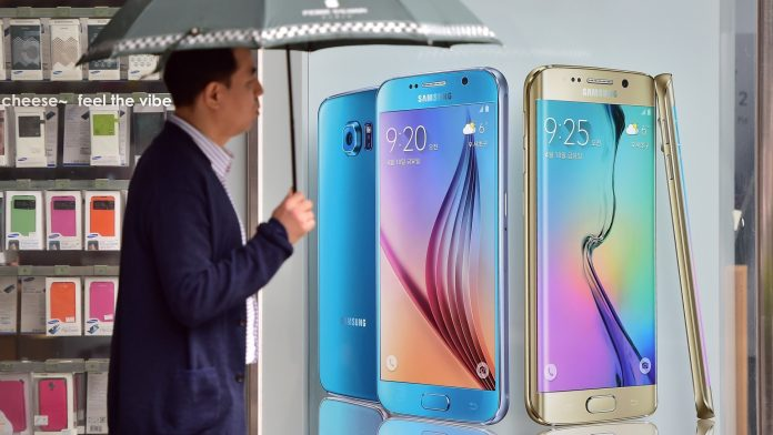 Samsung sales increase