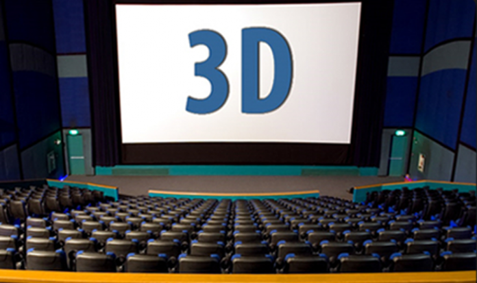 3D-Glasses less theatres
