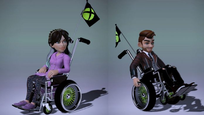 Microsoft Xbox avatars to get wheel chair option