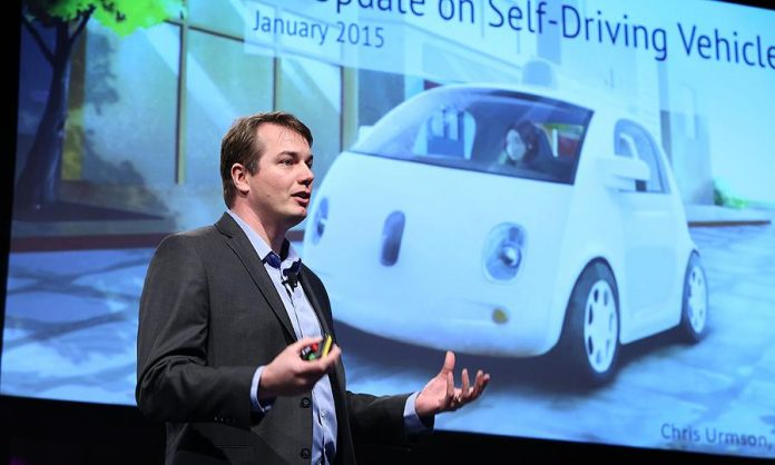 Chris Urmson departs from Google's self-driving car project