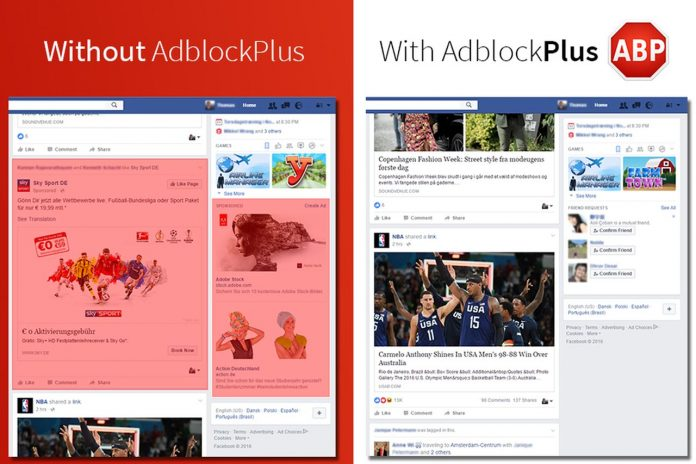 Ad-block plus slams Facebook's anti-adblocking push made on users