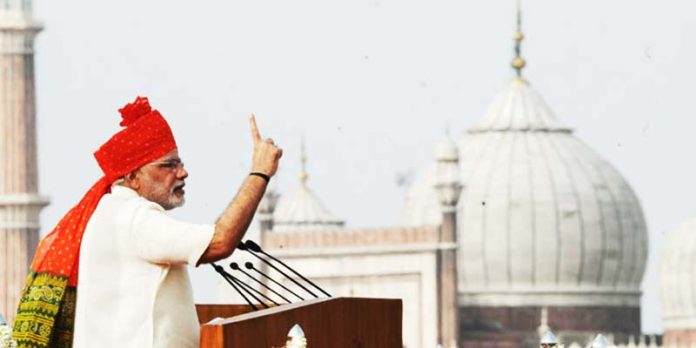 Narendra Modi Independence Day speech