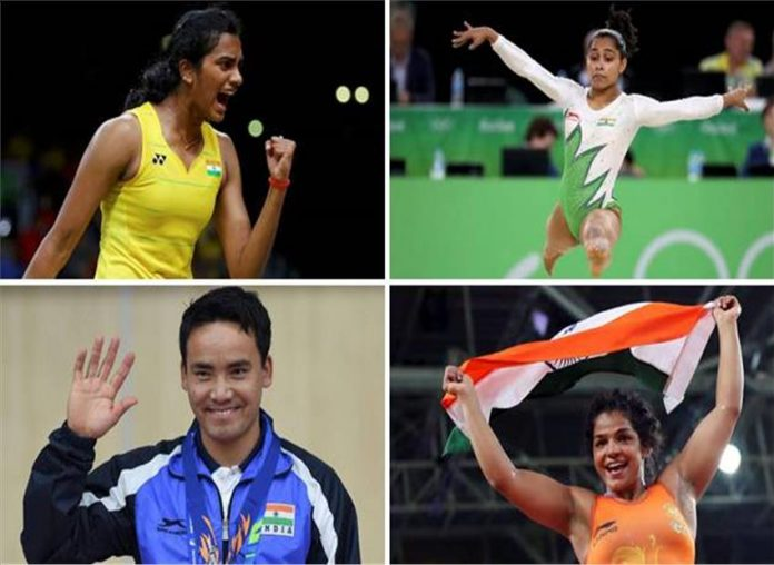 PV Sindhu, Sakshi Malik to be conferred with Rajiv khel Ratna award