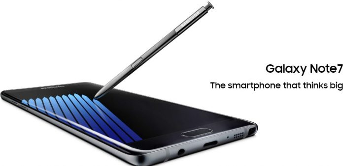 Samsung Galaxy Note7 Release