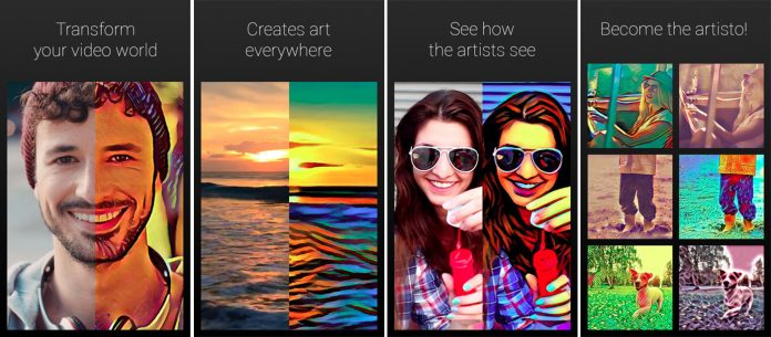 'Artisto' for Android and iOS
