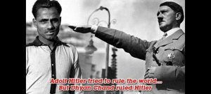 dyan chand and hitler