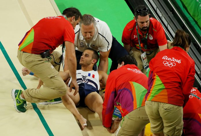 The Worst Injuries at Rio Summer Olympics 2016