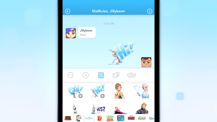Disney launches its social messaging app