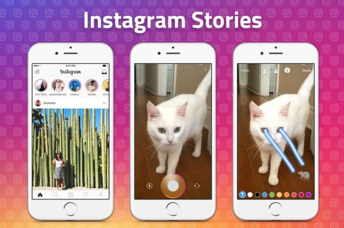 Instagram Stories is a clone of Snapchat Stories
