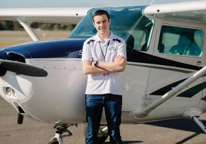 Teen Aviator flying round the world