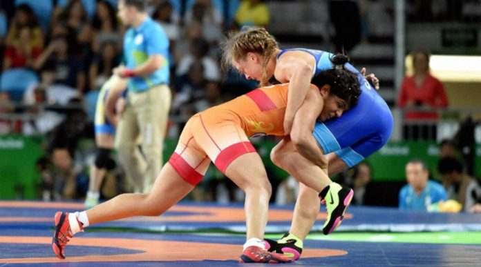 Sakshi Malik wins Bronze in Women's Wrestling