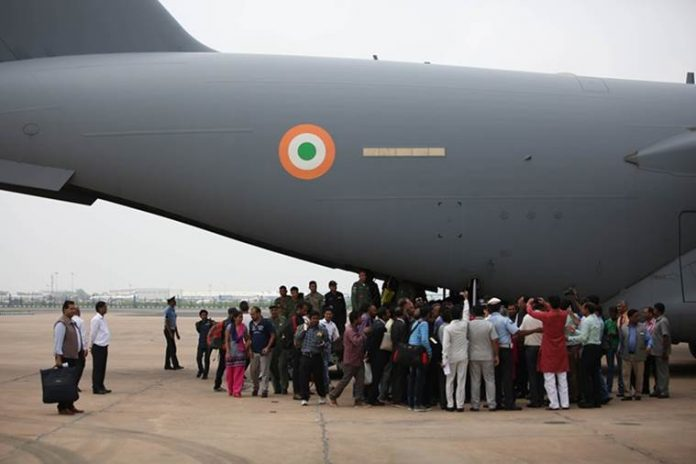 US Air force secretary praises Indian Air force for south sudan operation