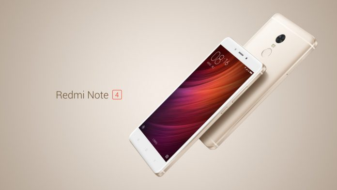 Xiaomi Redmi Note 4 with a 4100mAh Battery and MIUI 8 Launched in China