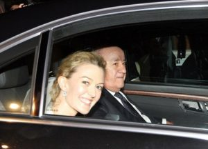World's Richest man along with his daughter