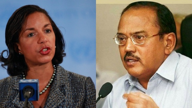 US Security Advisor Susan Rice Calls Ajit Doval
