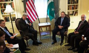 Pakistan PM meets US and UK representatives