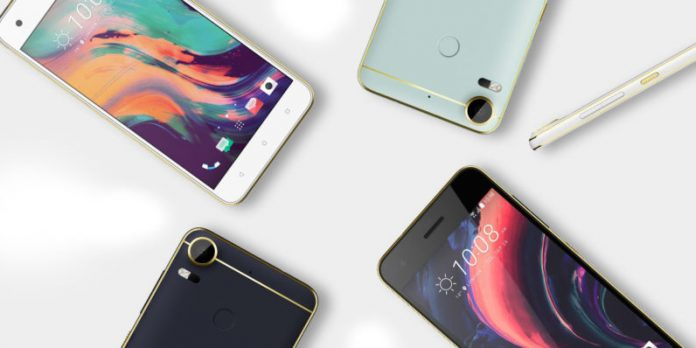 HTC Desire 10 lifestyle model