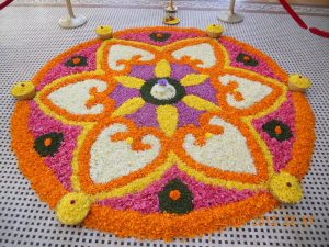 Happy onam greetings 2016 beautiful onam pookalam designs on these days people send onam greetings to their friends and beloved and decorate their homes with onam pookalam designs m4hsunfo