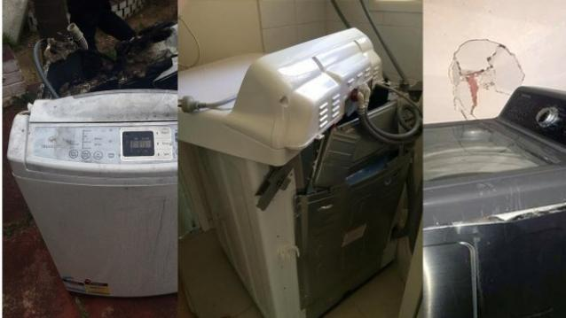 Samsung Washing Machines are Gone Under Explosion