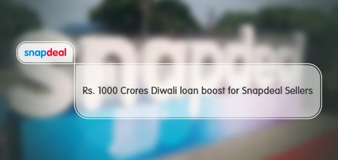 Snapdeal is Gearing up with Collateral Free Loans Worth Rs.1000 crores
